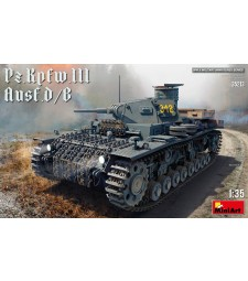 1:35 Германски танк Panzerkampfwagen III Ausf.D/B с интериор на купола (Pz.Kpfw.III Ausf. D/B)