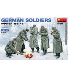 1:35 Германски войници (зимата на 1941-42) – 5 фигури