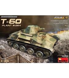 1:35 Съветски лек танк T-60 (фабрика No.264, Сталинград), с интериор (T-60, Plant No.264,Stalingrad, Interior Kit)