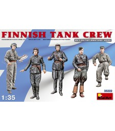 1:35 Финландски екипаж на танк (Finnish Tank Crew) - 5 фигури