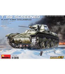 1:35 Съветски лек танк Т-60 с допълнителна броня - завод No.264 - пълен интериор (T-60 Screened (Pl. No.264, Stalingrad) Interior Kit)