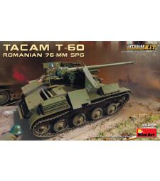1:35 Румънски танков унищижител 76-мм Такам Т-60, с интериор (Romanian 76-mm SPG Tacam T-60 Interior Kit)