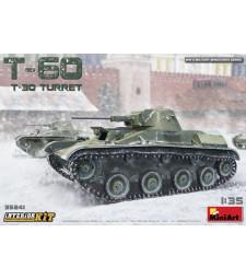 1:35 Съветски лек танк T-60 (T-30 купол), с интериор (T-60 ,T-30 Turret Interior Kit)