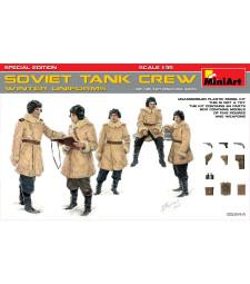 1:35 Съветски танков екипаж, зимни униформи (Soviet Tank Crew (Winter Uniforms) - Special Edition) - 5 фигури, специално издание