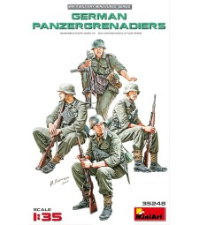 1:35 Германски панцер гренадири - 4 фигури (German Panzergrenadiers)