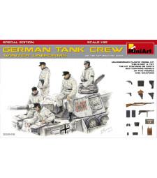 1:35 Германски танков екипаж (зимни униформи) (German Tank Crew, Winter Uniforms - SpecialEdition) - 5 фигури, специално издание