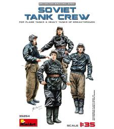 1:35 Съветски танков екипаж (за огнехвъргачи и тежки танкове) - 5 фигури