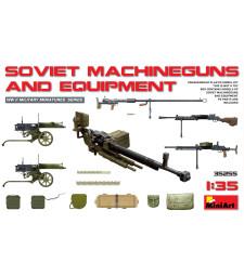 1:35 Съветски картечници и оборудване (Soviet Machineguns & Equipment)