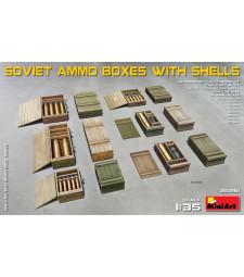 1:35 Съветски кутии за амуниции със снаряди