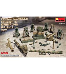 1:35 Комплект от Panzerschreck RPzB.54 и Ofenrohr RPzB.43