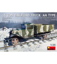 1:35 Железопътен камион 1,5 тона, тип АА