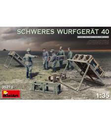 1:35 Система за залпов огън SCHWERES WURFGERAT 40 - 5 фигури