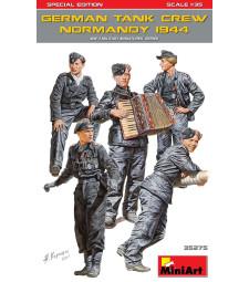 1:35 Германски танков екипаж (Нормандия 1944), специално издание - 5 фигури
