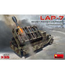 1:35 Съветска ракетна установка ЛАП-7 (Soviet Rocket Launcher LAP-7)