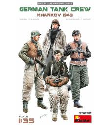1:35 Германски танков екипаж, Харков 1943 - 4 фигури