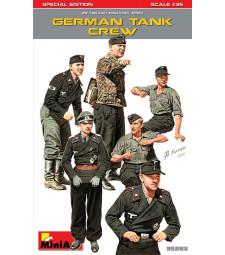 1:35 Германски танков екипаж, специално издание - 6 фигури