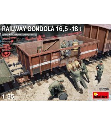 1:35 Железопътна гондола 16,5-18 тона