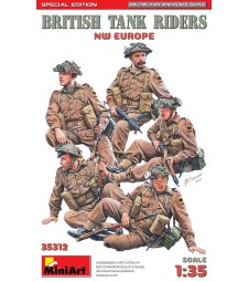 1:35 Британски танкисти (Северозападна Европа), специално издание