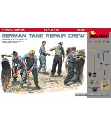 1:35 Германски екипаж за ремонт на танкове, специално издание - 5 фигури