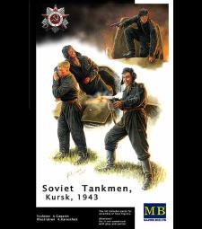 1:35 Руски танков екипаж, Курск, 1943 г. - 4 фигури