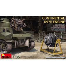 1:35 Continental R975 Engine