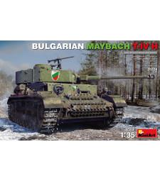 1:35 Български танк Maybach T-IV H