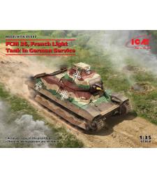1:35 Френски лек танк на германска служба FCM 36