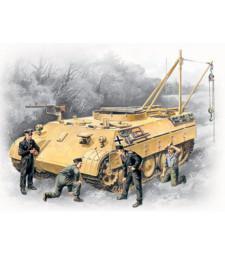 1:35 Германска инжинерна машина BERGEPANTHER с екипаж