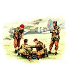 1:35 Британски парашутисти, 1944 - 4 фигури (British paratroopers, 1944. Kit 2  - 4 figures)