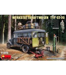 1:35 Германски ремонтен автобус Werkstattkraftwagen Typ-03-30