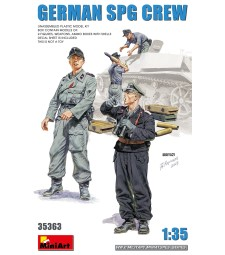 1:35 Германски екипаж на самоходно оръдие