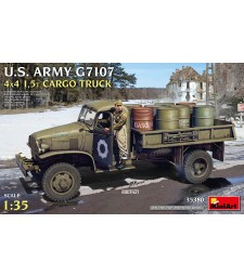 1:35 Американски армейски товарен камион G7107 4X4 1,5t