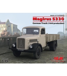 1:35 Германски камион Магирус С330 (Magirus S330) (1949) (Нова матрица 2016)