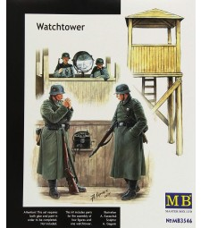 1:35 Наблюдателна кула - 2 фигури