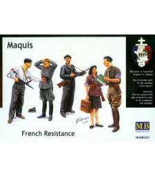 1:35 Маки, Френска съпротива - 5 фигури