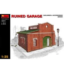 1:35 Разрушен гараж