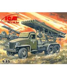 1:35 Руска система за залпов огън БМ-13-16 /BM-13-16/ на база Студебейкър