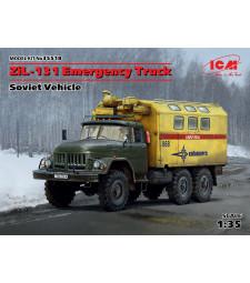1:35 Съветски авариен канмион ЗиЛ-131 (ZiL-131 Emergency Truck - Soviet Vehicle)