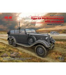 1:35 Немска кола G4 с въоръжение, Втората световна война