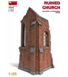 1:35 Руини от църква