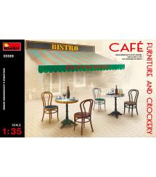 1:35 Мебели и съдове за кафетерия (Cafe Furniture & Crockery)