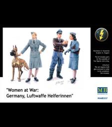 1:35 Жени на война: Германия, помощниц в Луфтвафе - 3 фигури