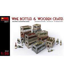 1:35 Бутили с вино и дървени съндъци