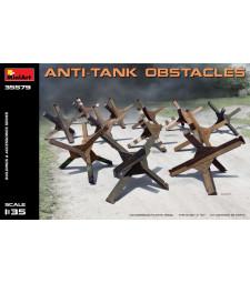 1:35 Противотанкови прегради (Anti-tank Obstacles) - 12 броя