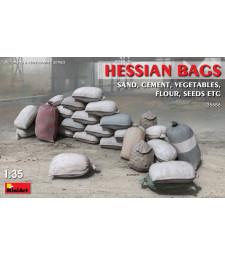 1:35  Хесиански чували (пясък, цимент, зеленчуци, брашно и др.) (Hessian Bags (sand, cement,vegetables, flour etc)
