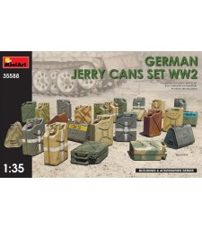 1:35 Германски туби за гориво, Втора световна война (German Jerry Cans Set WW2)