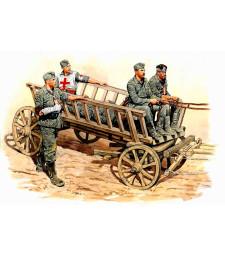 1:35 Път към тила - 4 Фигури ( Road to the Rear - 4 figures)