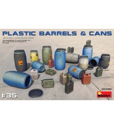 1:35 Plastic Barrels & Cans