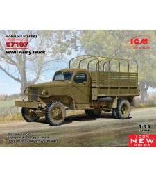 1:35 Армейски камион G7107, Втората световна война (100% нови матрици)