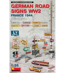 1:35 Германски пътни знаци от периода на Втората световна война (Франция 1944)